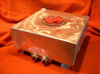 Aluminum aux fuel tank